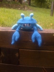 Sheldon the Crab – free crochet pattern for the month ofJanuary