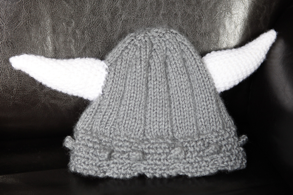 Knitted Viking /viking-helmet-knit-and