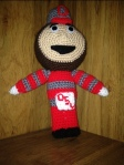Free Pattern Tuesday (a day late) Brutus the Buckeye