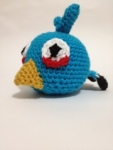 Free Pattern Tuesday – Blue AngryBird