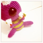 Free Pattern Tuesday – One eyed, one horned, flying purple people eater