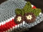 Buckeye Baby Hat – FreePattern