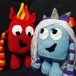 Sparky and Frostina – Free Pattern
