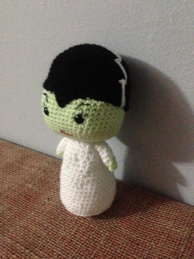 Bride of Frankenstein Crochet
