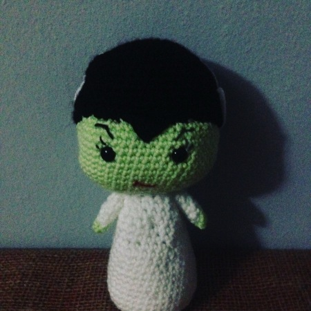 Drunken Aunt Wendy Bride of Frankenstein Crochet