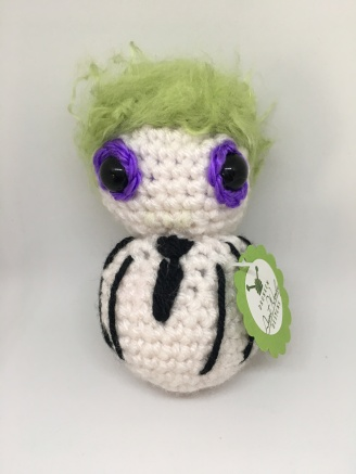 Drunken Aunt Wendy Crocheted Beetlejuice pattern