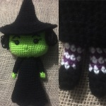 Wicked Witch of the West – free Crochet Pattern