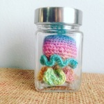 Free Crochet Pattern – Jellyfish in a jar