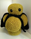 Free Crochet Pattern – Mr. Sa – the Superbug, MRSA
