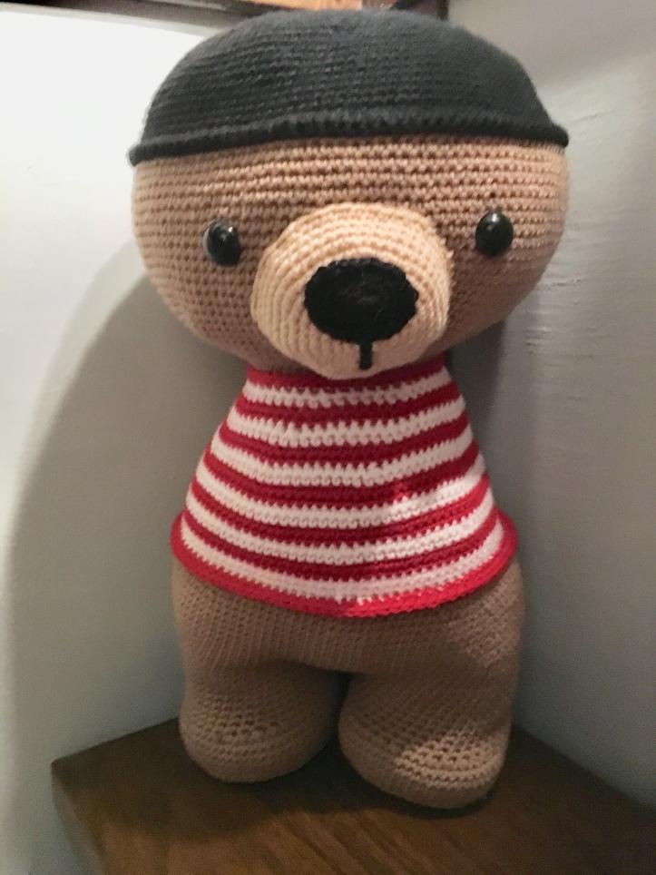 Crochet Stuffed bear.