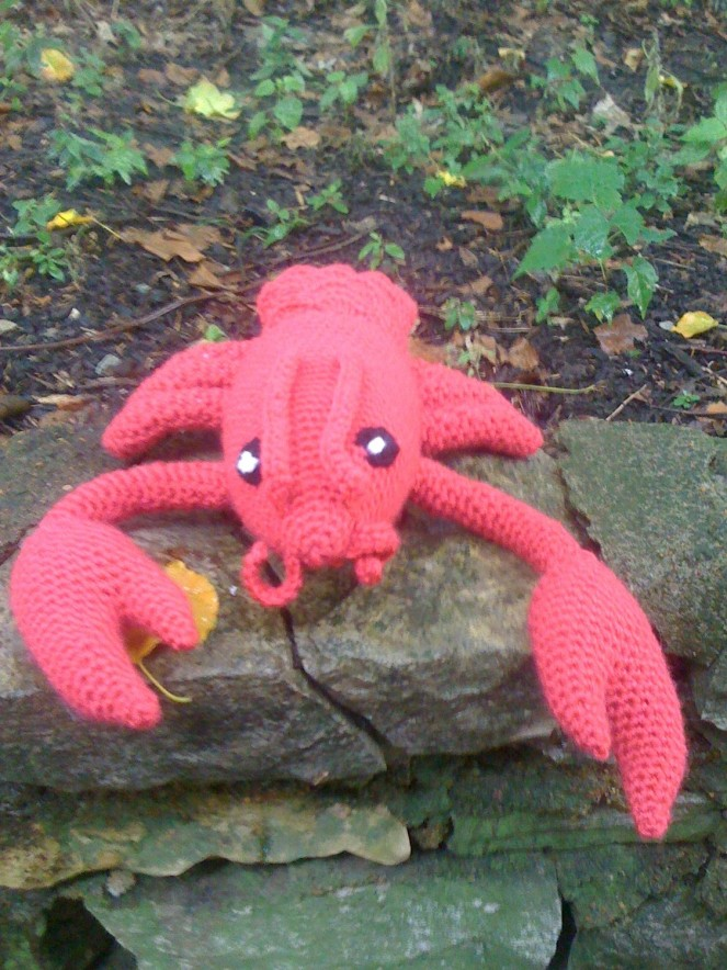 Crocheted Lobster Pattern