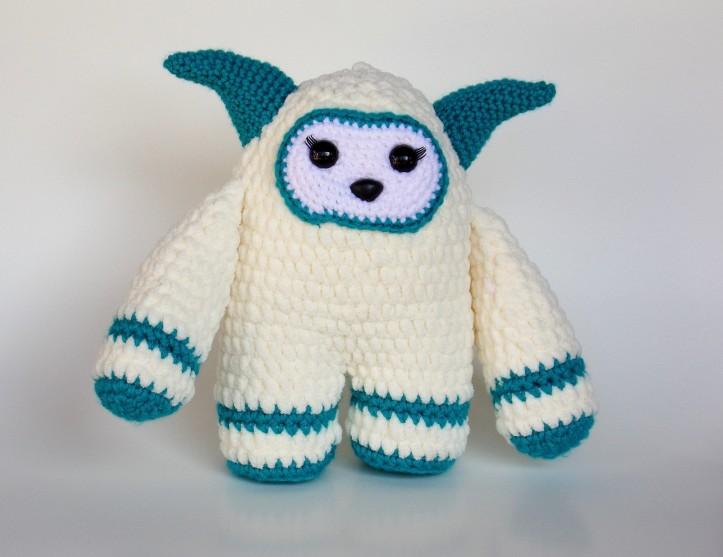 Free Crochet Yeti Pattern
