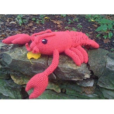 Crochet Lobster Drunken Aunt Wendy